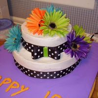 18Th B-Day ! This cake is for my daughter's 18th. Thanks for looking... any comments appreciated!