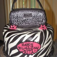 Coach-Zebra This was a fun one to do. They were receiving a coach purse as a gift (lucky-lucky). TFL.