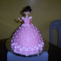 Cake Doll This is my fisrt attempt in cake decorating. I made this as a gift for the birthday of my officemate's daughter. This is made of...
