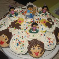 Dora And Diego Cupcakes