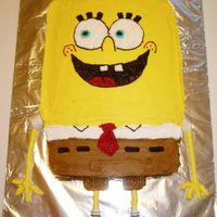 Sponge Bob Squarepants For a friend's granddaughter's birthday. I have never watched the show, so a HUGE thanks to all the folks on Cake Central for the...
