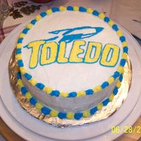 University Of Toledo -Birthday