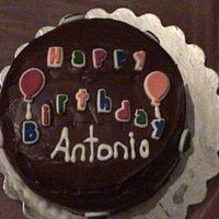 First Ice Cream Cake This was my first ice cream cake. The bottom layer was browines in the middle was ice cream and the top layer was chocolate. I hope my...