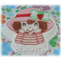 Strawberry Shortcake Wilton Strawberry Shortcake pan.