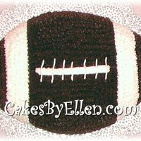 Basic Football Cake Basic Football Cake using Wilton's Football pan. Iced in buttercream stars. Nothing special, just cute and good to show customers.
