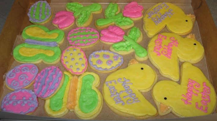 Easter Cookies   Decorated with buttercream
