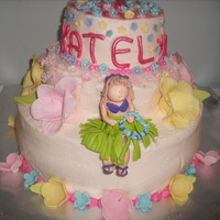 Luau Cake Birthday cake for niece per her design, she loved it.