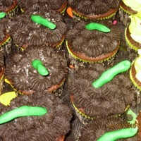Witches Fingers I told that witch to keep her fingers off my cupcakes! I made these for my son's costume party. WASC Chocolate cupcakes with chocolate...