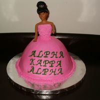 Cake For My Sorority Picnic