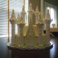 Niece Birthday Cake My niece wanted this cake for her 6th birthday. It is the Wilton Castle set. Very easy to follow and the finished product is nice if you...