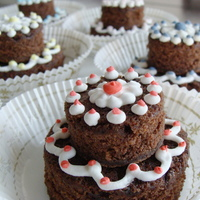 Mini Brownie Cakes!