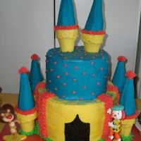 Jojo's Circus Cake My daughter's 3rd b-day cake. Wanted to do a cake like dolittle's JoJo cake, but mine did not come out good (sorry, no pic) and...
