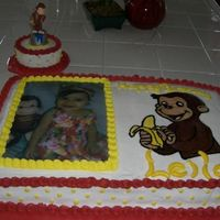 Curious George Cake + Splat Cake