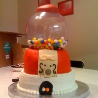 Gumball Cake I made this for a 15 year old. Thanks for all the suggestions, help on this site. It's not as good as some of them on here, but I&#039...