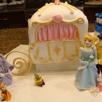 Princess Cake WASC with raspberry white chocolate mouse filling and white chocolate ganache.