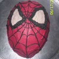 Spider-Man I made this for my brother's 3rd birthday just a couple of weeks ago. He absolutely LOVED it! The pan I used was supposed to be a...