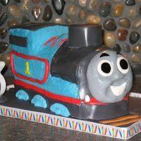 Thomas The Tank Engine This is the cake I made for my son's 3rd birthday. While there are a few Thomas kits out there, I decided to 'wing' it with...