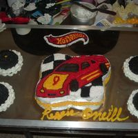 Home Made Race Car i made this cke for one of mi kids birthday