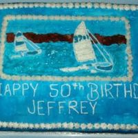 Jeffrey's 50Th   carrot cake with cream cheese filling and buttercream icing