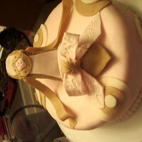 Shoe Cake Here is a different view.