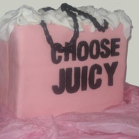 Juicy Couture Cake Custom Juicy Couture Cake from Philadelphia Bakery