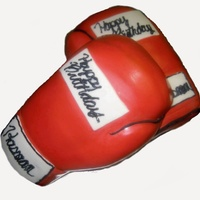 Boxing Gloves Cake boxing Gloves custom birthday cake from Imagicakes Philadelphia Bakery