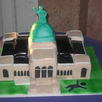 Please Touch Museum Cake   Custom Building cake from Philadelphia Bakery