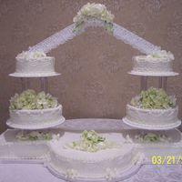 Lee-Lor Wedding Cake