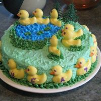 Quack made for my sister in-law's birthday. she collects rubber ducks