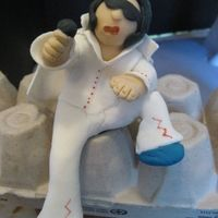 Elvis Elvis figurine for a 50th birthday party