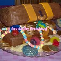 Rice Crispie Treats Treasure Chest