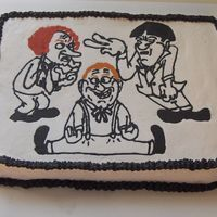Stooges Friend's birthday who loves the Three Stooges. FBCT