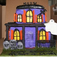 Haunted House Birthday Cake