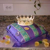 Pillow Cake - Purple