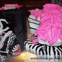 Zebra Print And Hot Pink