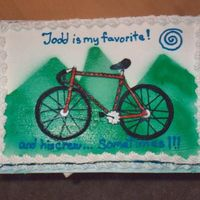 Mountian Bike Cake