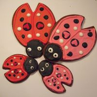 Love Bug Cookies I saw these Love Bug cookies being made on Martha Stewart and thought they were great! I had to make some modifications to the cookie...