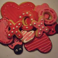 Valentine's Day Cookies Cookies I made for Valentine's day