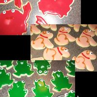 Critter Cookies   A good friend of mine bought candy eyes from CK and shared them with me so I HAD to make NFSC animals to use the eyes on! LOL