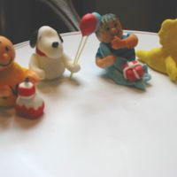 First Fondant Figures Peanuts This is my first attempt at making figures out of fondant. Hopefully I will get better with time. These are practice figures.
