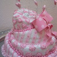 Crooked Baby Shower To a sweet baby-girl ¨Tilde¨