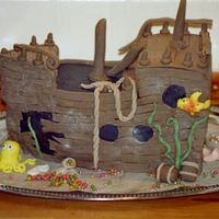 Pirate Ship To my son`s 5 years birthday.