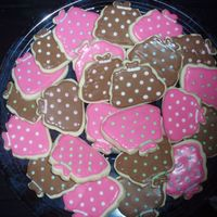 Purse Cookies NFSC WITH ROYAL ICING