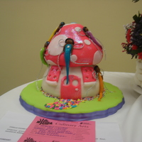 Debbie Brown's Fairy Toadstool Cake #1