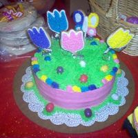 L_A91Bc0C0Af64Aae8C1193C230096.jpg This is a picture of a easter cake my hubby and I done for last easter..I was about to have wrist surgery so he done the cake with me...