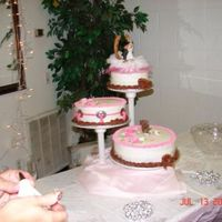953523314_L.jpg Heres a bigger picture of my first wedding cake I done for my little brother I was only decorating for about a month when my little brother...