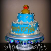 Rub A Dub vanilla with buttercream...rubber duck on top