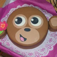 Justice Clothing Monkey Cake
