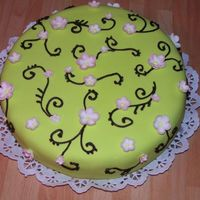 Apple Blossoms Cake