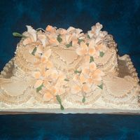 Unusal Wedding Cake